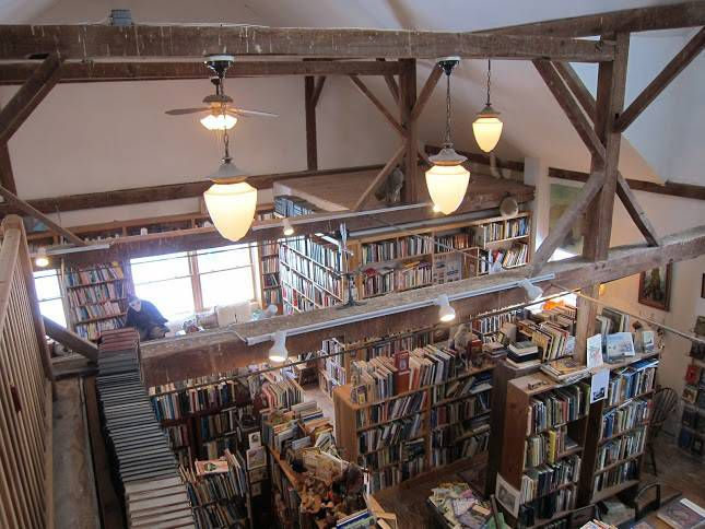 bibliobarn interior
