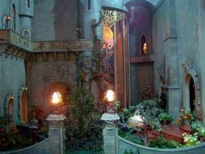 exterior of colleen moore's fairy castle