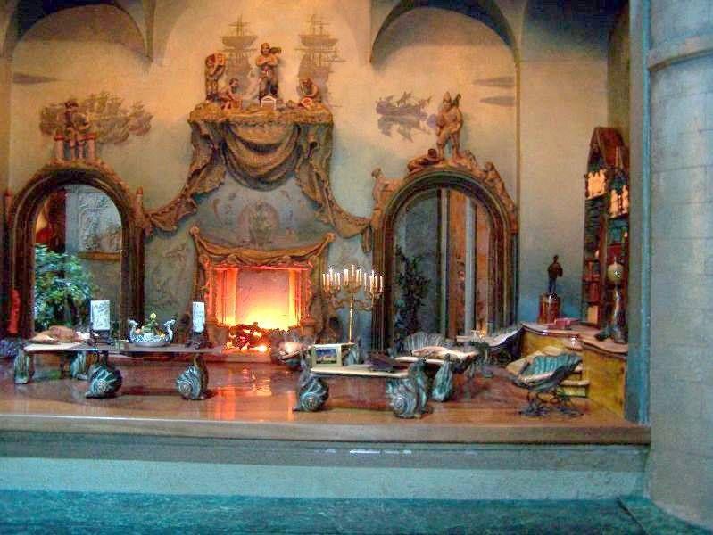 fairy castle library