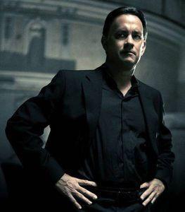 Tom Hanks as Robert Langdon, circa ANGELS AND DEMONS.