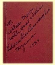 Tarzan Jr by Edgar Rice Burroughs signature