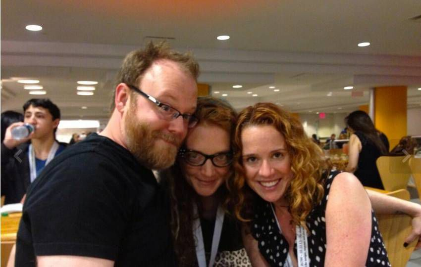 Chuck Wendig becomes a Well-Readhead at Book Expo America.