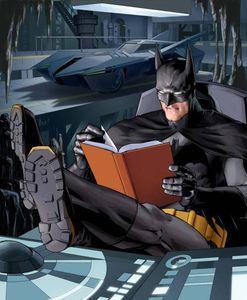 Batman Reading