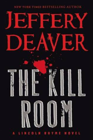 The Kill Room Jeffery Deaver Cover