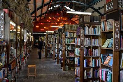 Hallway at Barter Books
