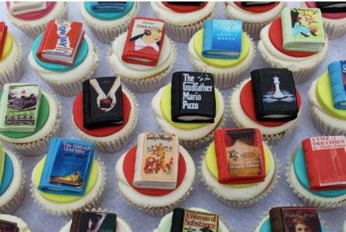 literary cupcakes