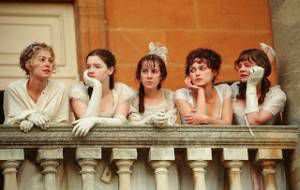 screen capture from Pride & Prejudice movie