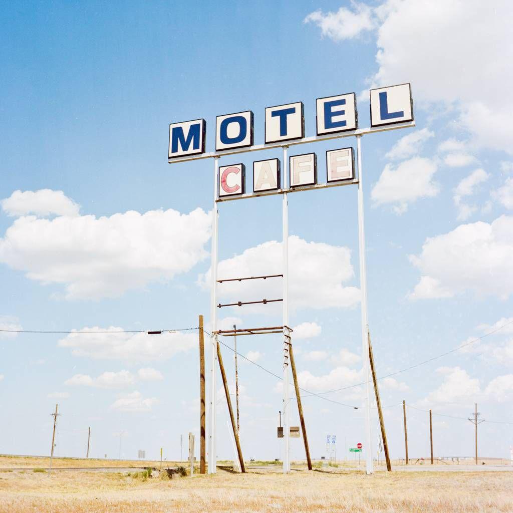 Road Trip Motel Sign
