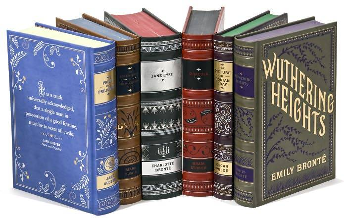 classic novels barnes noble classics books leatherbound collectible hardcover literature illustrated editions collection penguin sterling pretty bound leather series sets