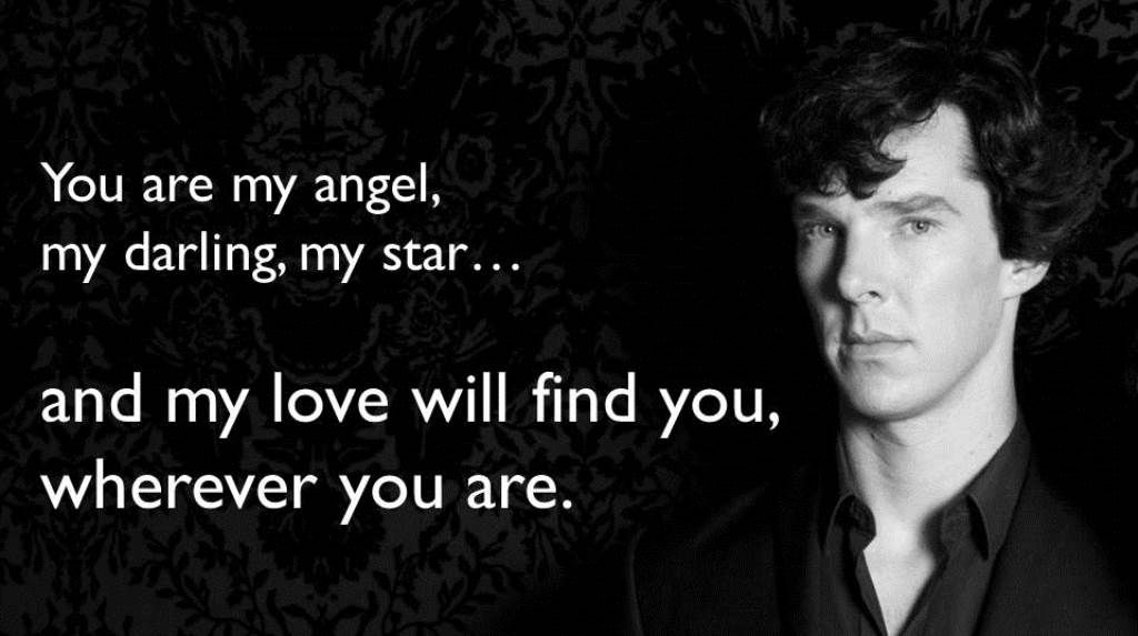 Benedict Cumberbatch reading from MY LOVE WILL FIND YOU WHEREVER YOU ARE