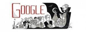 Bram Stoker Google Doodle