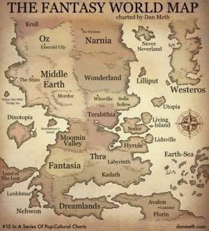 Bildresultat för fantasy book maps