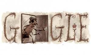 Franz Kafka Google doodle