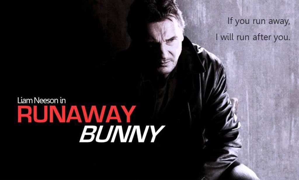 Liam Neeson as Runaway Bunny Title