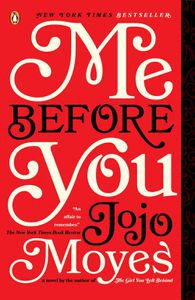 Me Before You Jojo Moyes Cover