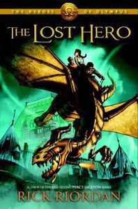 The Lost Hero Rick Riordan Cover