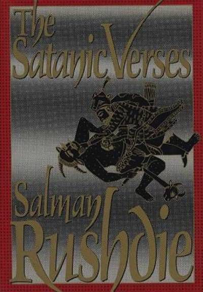 satanic verses hardcover first USA edition