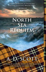 North Sea Requiem A D Scott Cover