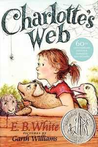Charlotte's web b E.B. White book cover - classics for middle graders