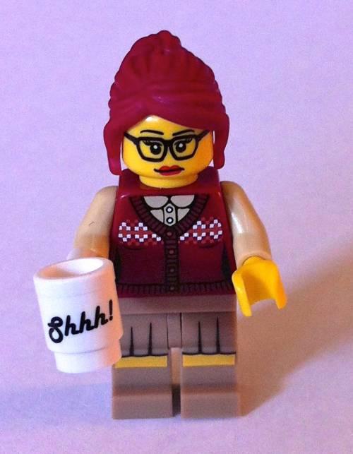 Lego Librarian Reinterpreted as Hipster Librarian, Warrior Librarian, and More