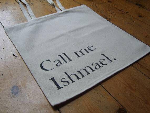 call me ishmael tote