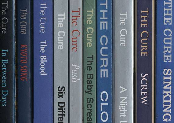 the cure books