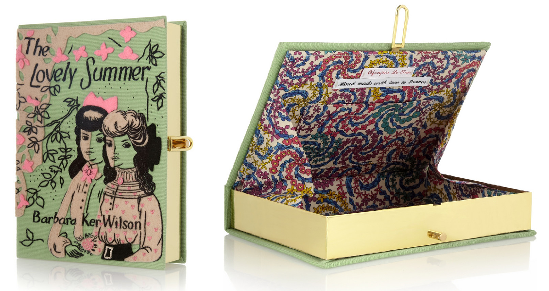 Olympia Le-Tan The Lovely Summer embroidered clutch