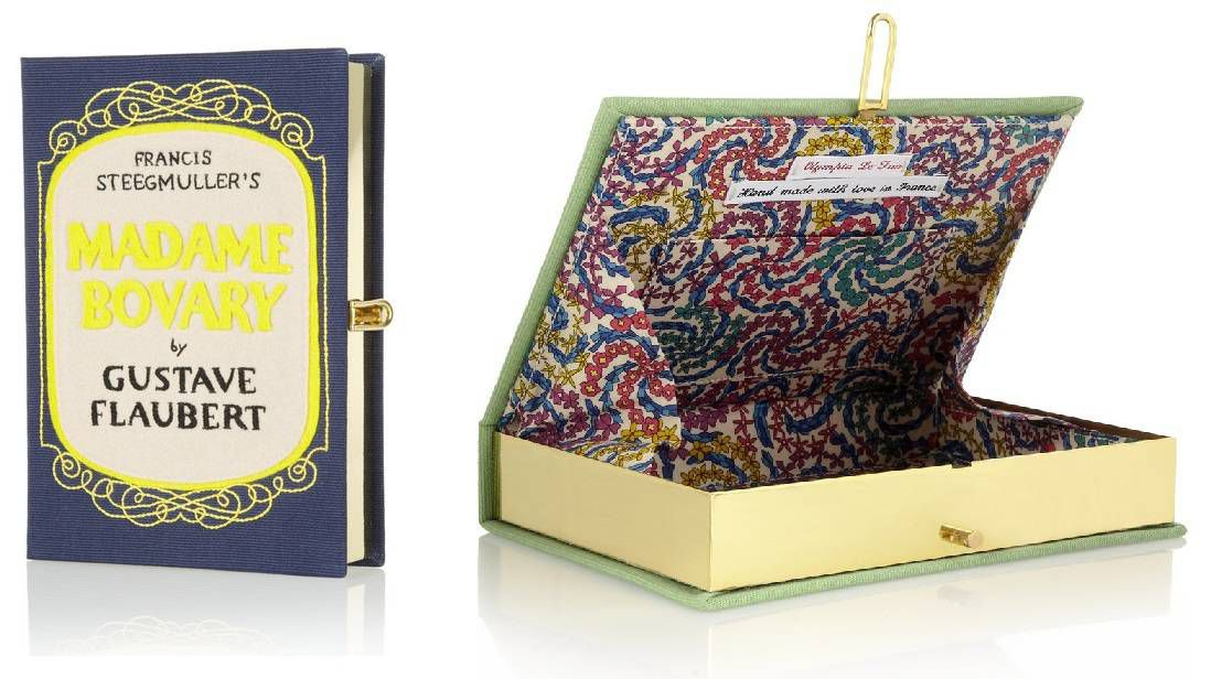 Olympia Le-Tan Madame Bovary embroidered clutch