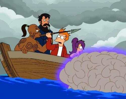 Futurama Moby Dick