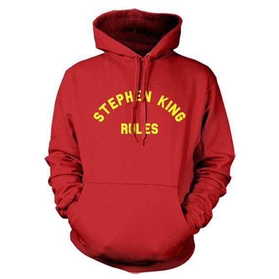 stephen king rules sweatshirt