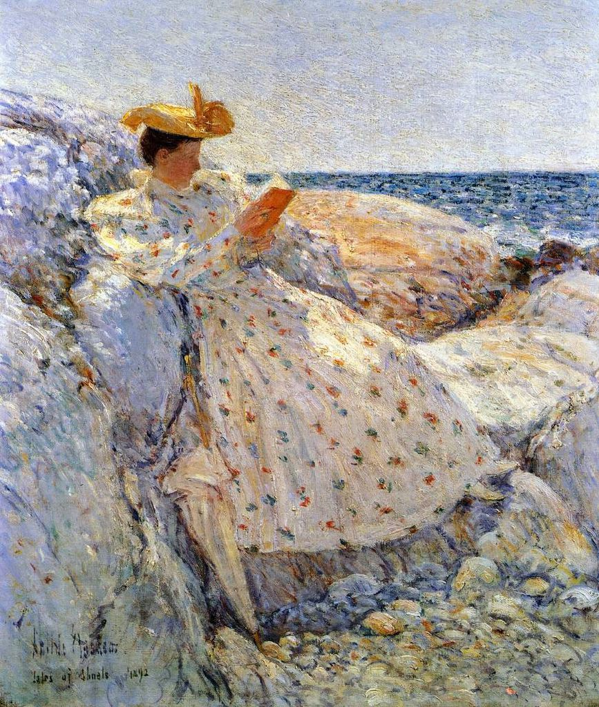 """Isle of Shoals,"" Childe Hassam"
