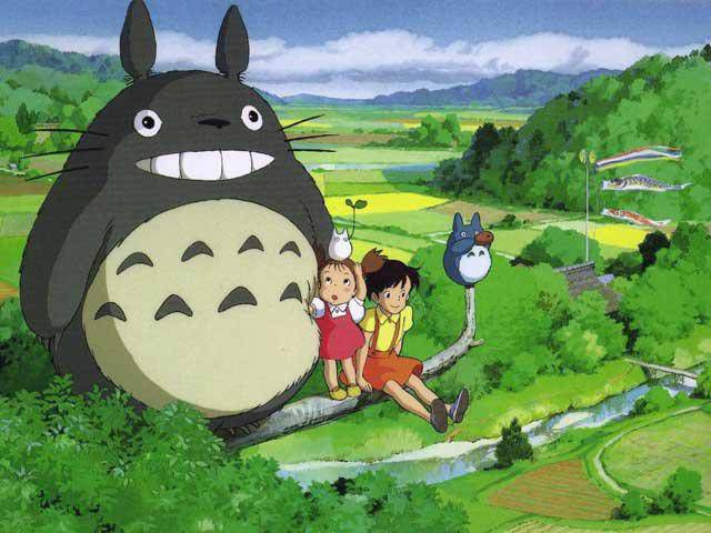 I am typing this while wearing a t-shirt with a TOTORO on it.