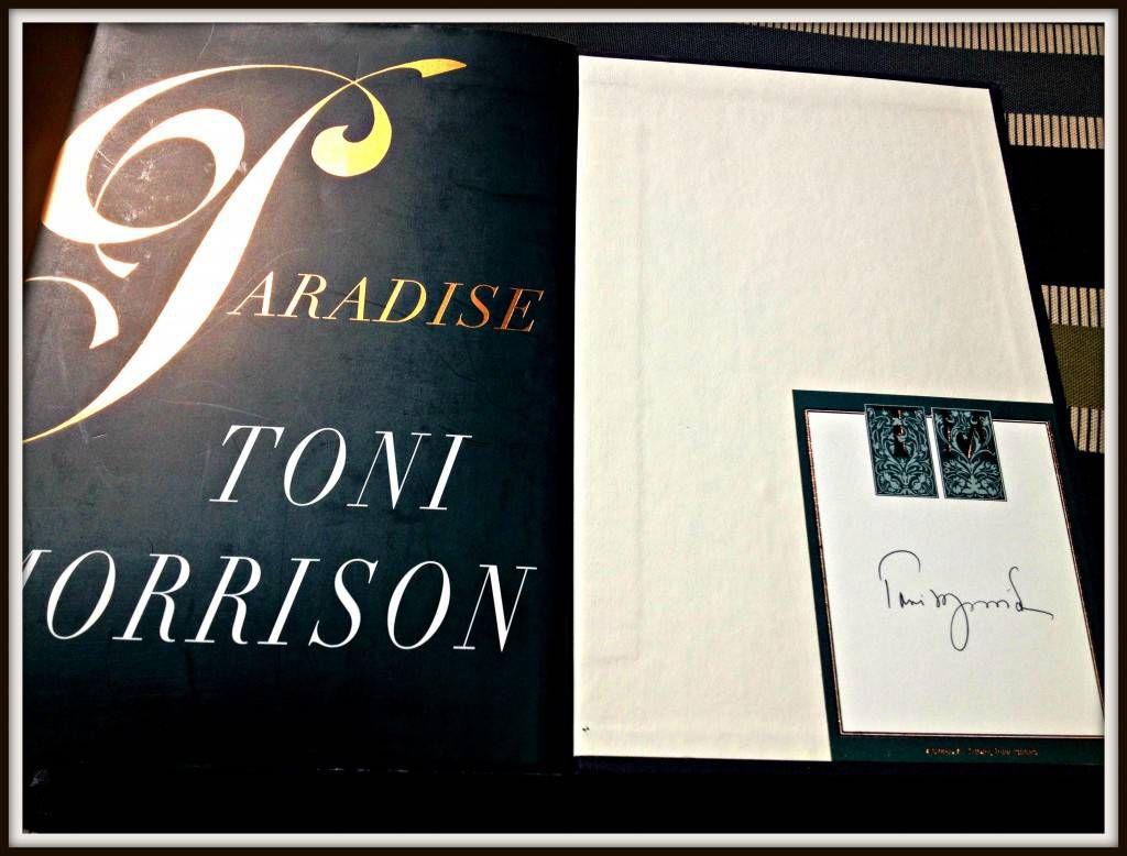 Autographed Paradise, Toni Morrison