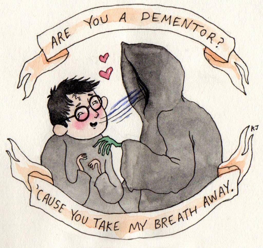Harry Potter dementor valentine by Kjersti F