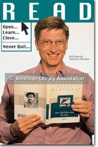Bill Gates READ Poster