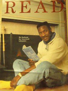 Bo Jackson READ Poster