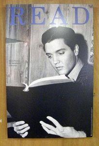 Elvis READ Poster