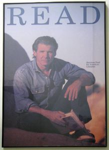 Harrison Ford READ Poster