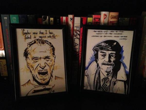 author portraits