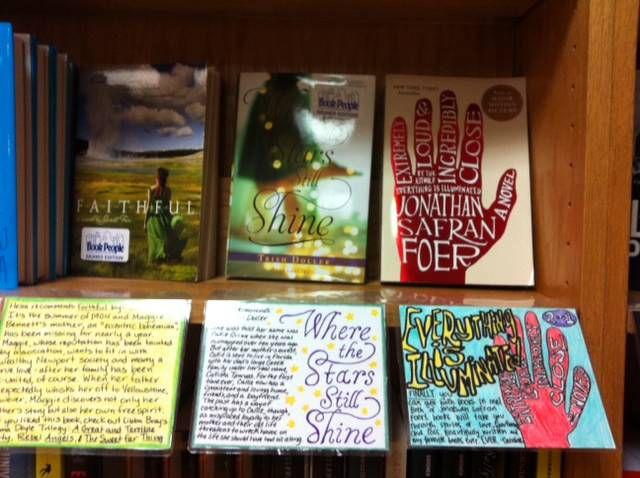 book people shelf talkers