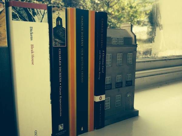 dickens bookend