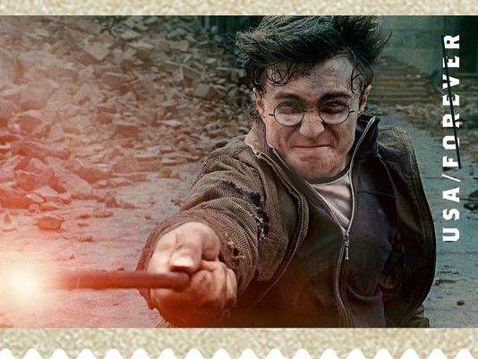 harry potter stamp