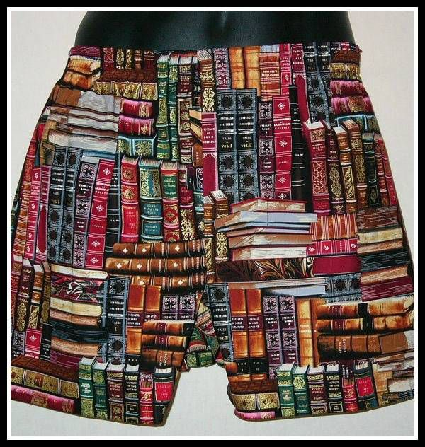 Library boxers.