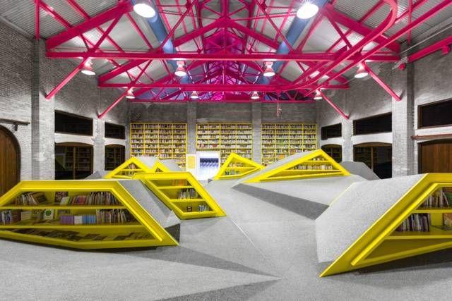 interior conarte children's library