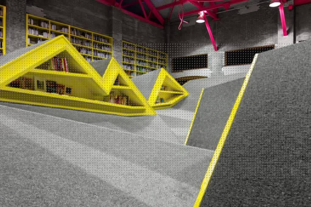 conarte children's library interior