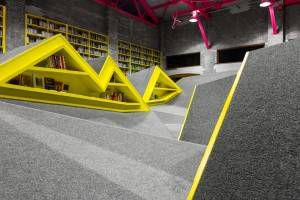 conarte children's library interior