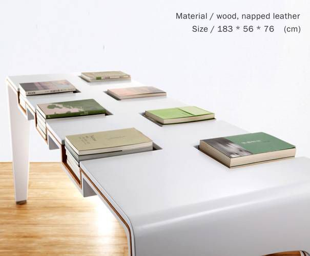 library table bookshelf
