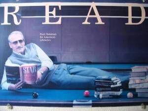 Paul Newman Read Poster