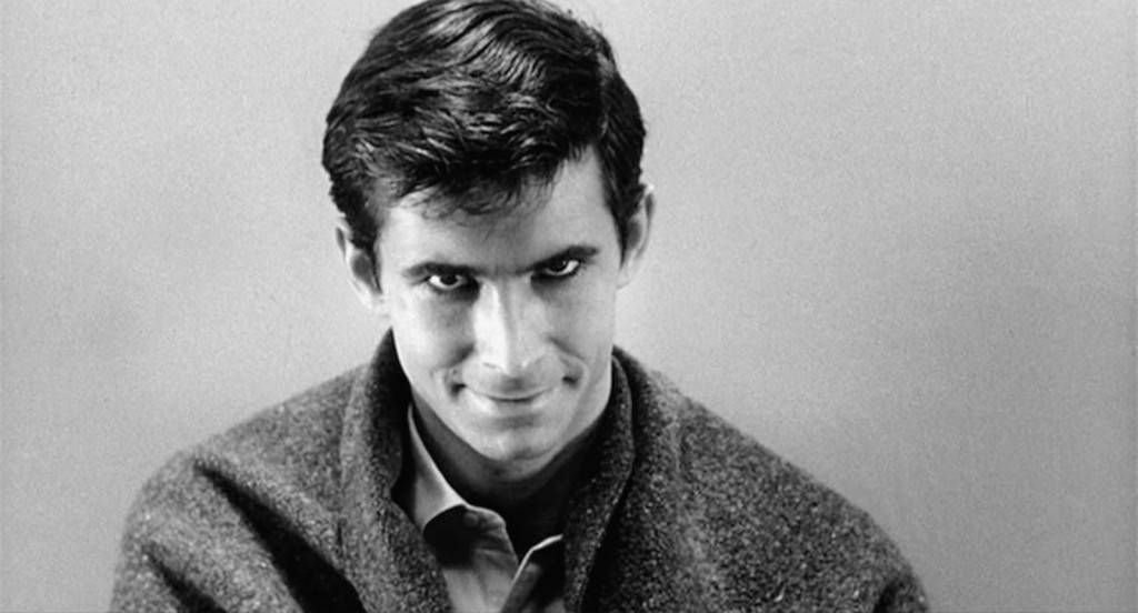 Anthony Perkins in scene from Psycho in 10 Movies You Didn't Know Were Based on Books | BookRiot.com
