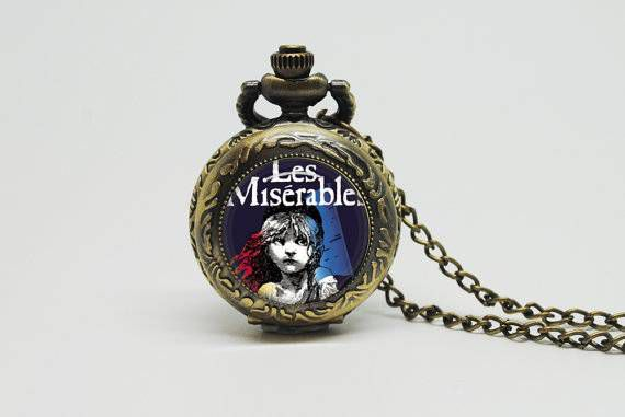 les miserables pocket watch